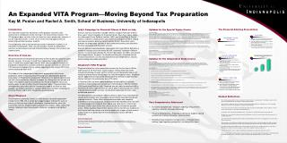 An Expanded VITA Program—Moving Beyond Tax Preparation Kay M. Poston and Rachel A. Smith, School of Business, Universit