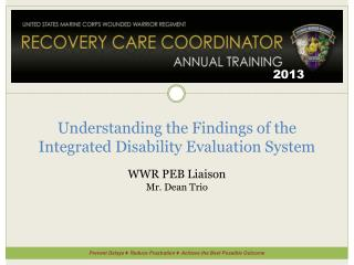 Understanding the Findings of the Integrated Disability Evaluation System
