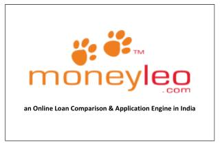 an Online Loan Comparison & Application Engine in India