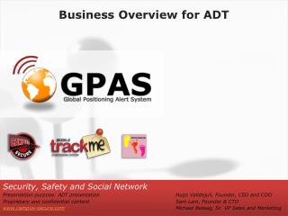 Business Overview for ADT