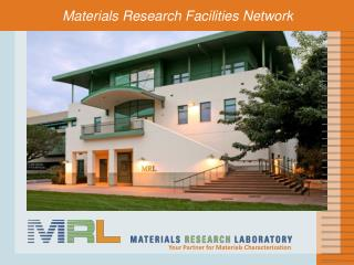 Materials Research  Facilities Network