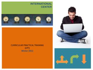 CURRICULAR PRACTICAL TRAINING (CPT) Winter 2012