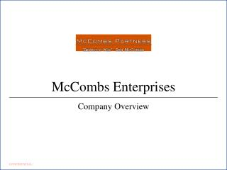 McCombs Enterprises