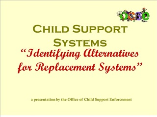 child support systems