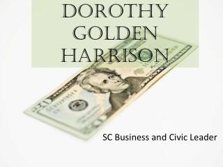 Dorothy Golden Harrison