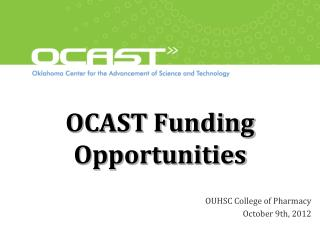 OCAST Funding Opportunities