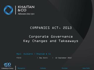 Ravi  Kulkarni | Khaitan & Co