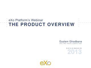 eXo Platform�s Webinar
