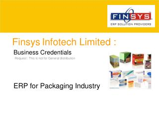 Finsys Infotech Limited :