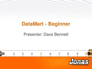 DataMart  - Beginner