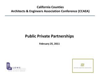 California Counties  Architects & Engineers Association  Conference (CCAEA)