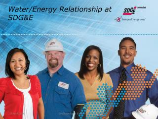 Water/Energy  Relationship at SDG&E
