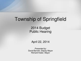 Township of Springfield