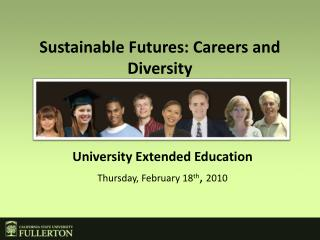 Sustainable Futures: Careers and Diversity