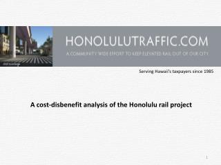 Serving Hawaii's taxpayers since 1985
