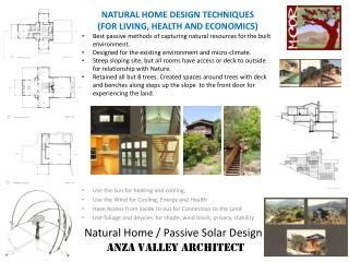 Natural Home / Passive Solar Design