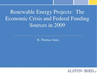 alternative energy and energy tax  incentives