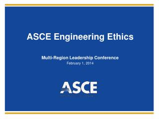 ASCE Engineering Ethics