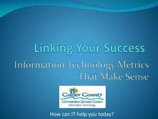 Linking Your Success