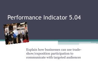 Performance Indicator 5.04