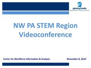 Center  for  Workforce Information  &  AnalysisNovember 8, 2010