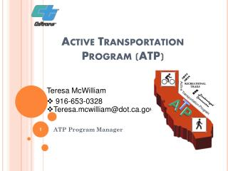 Active Transportation  Program (ATP)