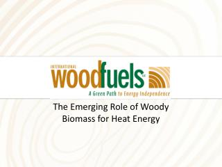 The Emerging Role of Woody Biomass for Heat Energy