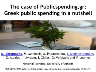 The case of  Publicspending.gr : Greek public spending in a nutshell