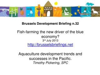 AquaCULTURE  DEVELOPMENT TRENDS AND SUCCESSES in the pacific
