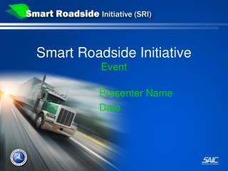 Smart Roadside Initiative Event