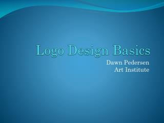 Logo Design  Basics