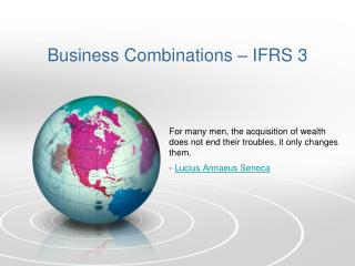 Business Combinations  – IFRS 3