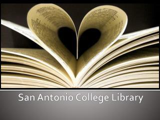 San Antonio College Library