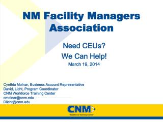 NM Facility Managers Association