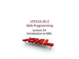 UFCEUS-20-2  Web Programming