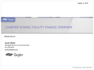 Charter School Facility Finance Overview