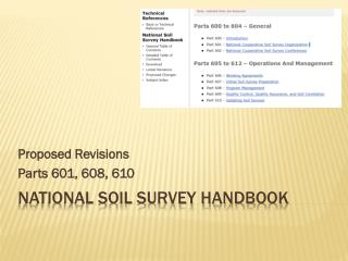 National Soil Survey Handbook