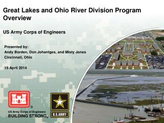 Great Lakes and Ohio River Division Program Overview US Army Corps of Engineers