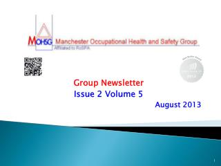 Group Newsletter Issue 2 Volume 5 August 2013