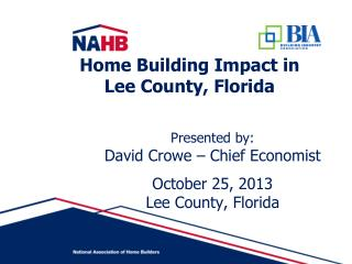 Home Building Impact in  Lee County, Florida