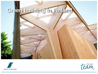 Green building in Finland