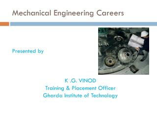 Mechanical Engineering Careers