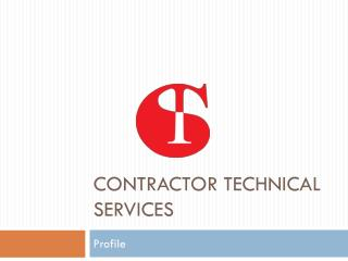 Contractor Technical Services