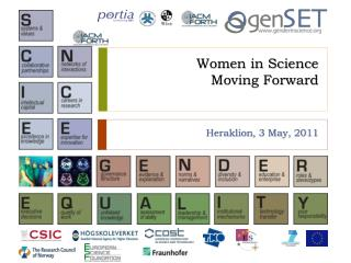 Women in Science Moving Forward