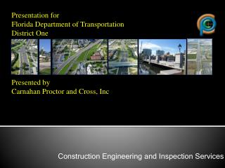 Construction Engineering and Inspection Services