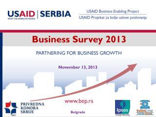 Business Survey 2013