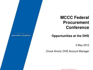 MCCC Federal Procurement Conference
