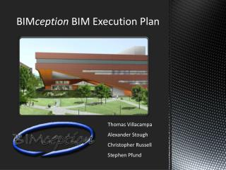 BIM ception BIM Execution Plan