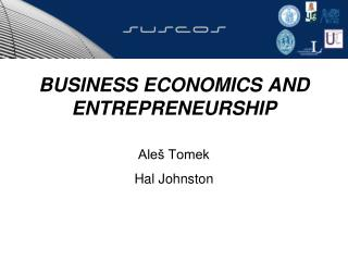 BUSINESS ECONOMICS AND ENTREPRENEURSHIP