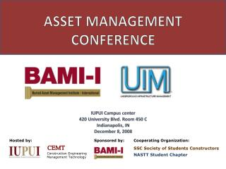 ASSET MANAGEMENT CONFERENCE